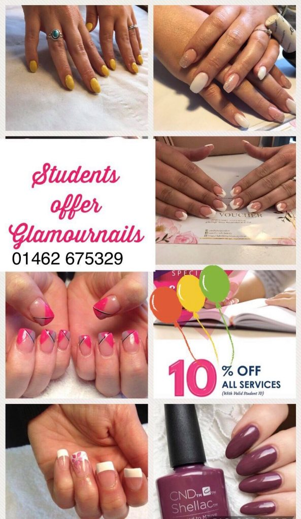 Student Offer Glamour Nails